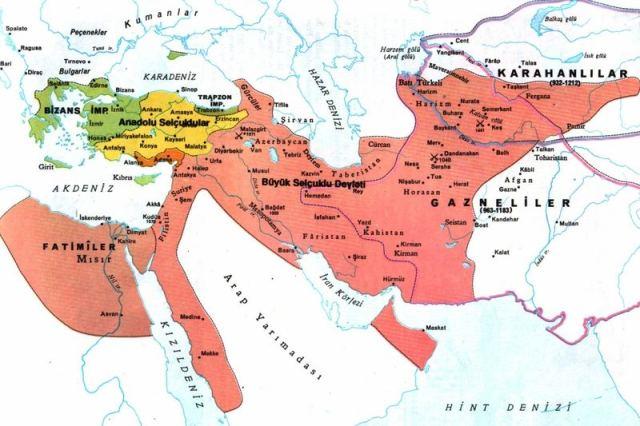 selcuklu-devleti-harita