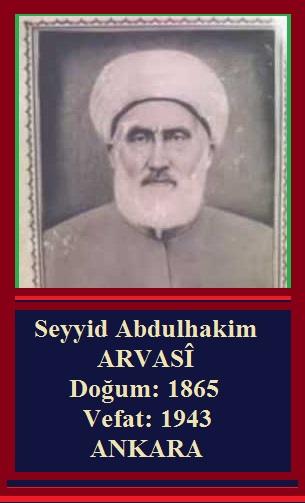Seyyid Abdulhakim Arvasi