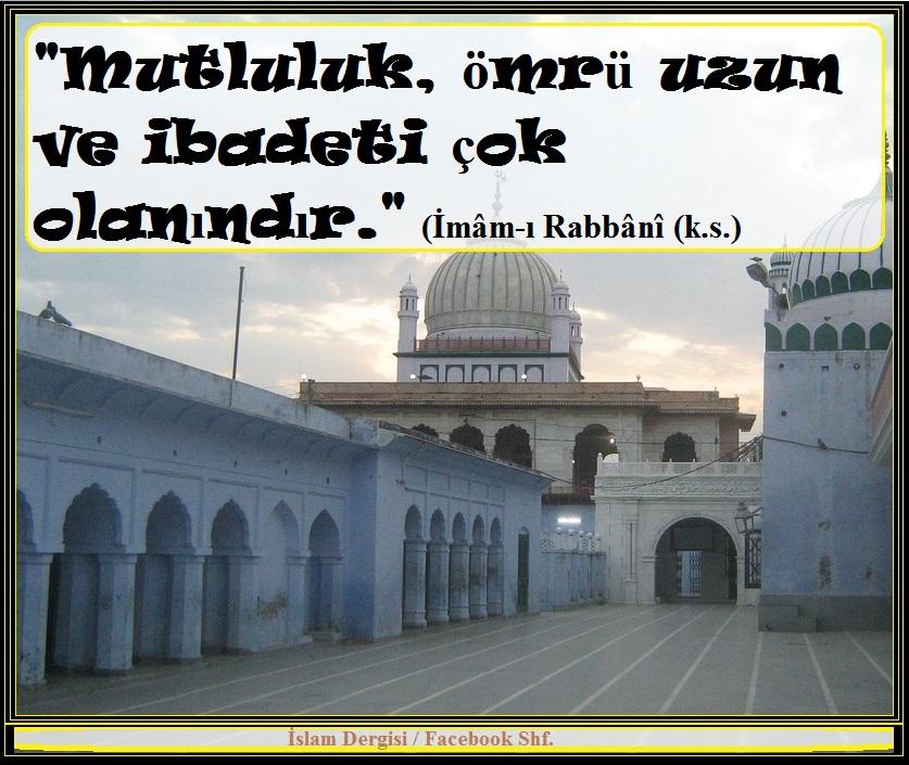 İmamı Rabbani- mutluluk